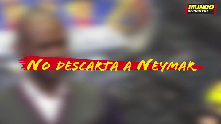 Entrevista Éric Abidal: No descarta a Neymar