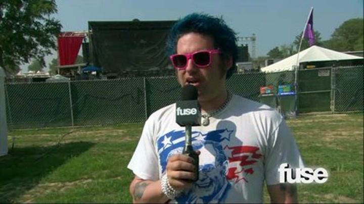 Festivals: Bonnaroo: Fat Mike: New Music - Bonnaroo 2011