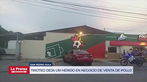 Atacan a balazos a un hombre tras salir de un negocio de venta de pollo en San Pedro Sula