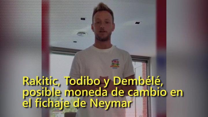 Rakitic, Dembélé y Todibo, posible moneda de cambio en el fichaje de Neymar