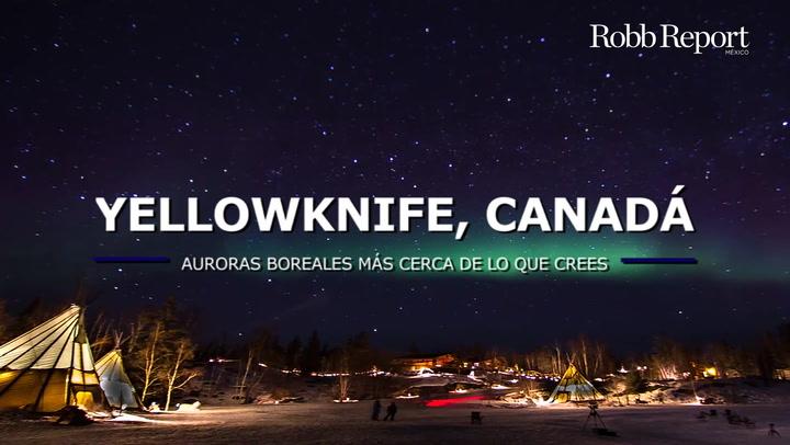 Disfruta de las luces del norte en Yellowknife