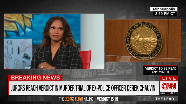 CNN's Coates Before Chauvin Verdict: People See Security Measures as 'Preparing Me for an Acquittal'