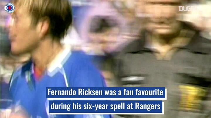 Rangers hero Fernando Ricksen's brave battle with Motor Neurone Disease