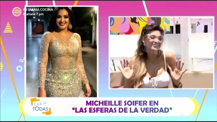 """Micheille Soifer sobre su peso: """"Antes me sentía un mujerón ahora me siento saludable"""""""