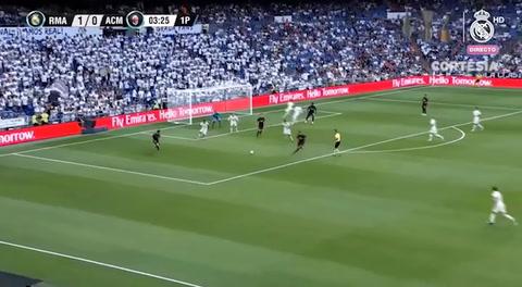 Real Madrid vence al Milan y se queda con el trofeo Bernabéu