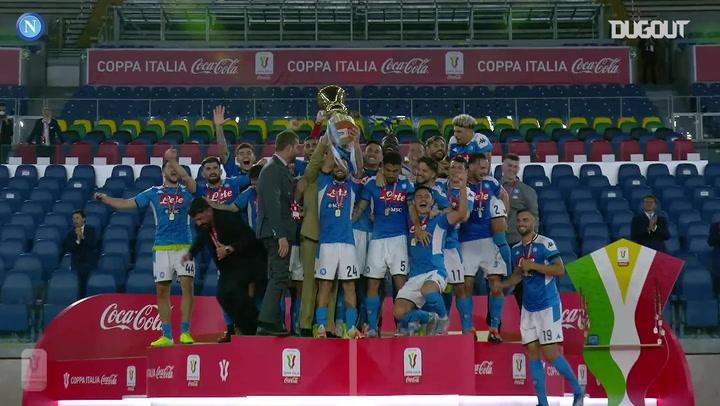 Napoli beat Juventus in 2020 Coppa Italia final