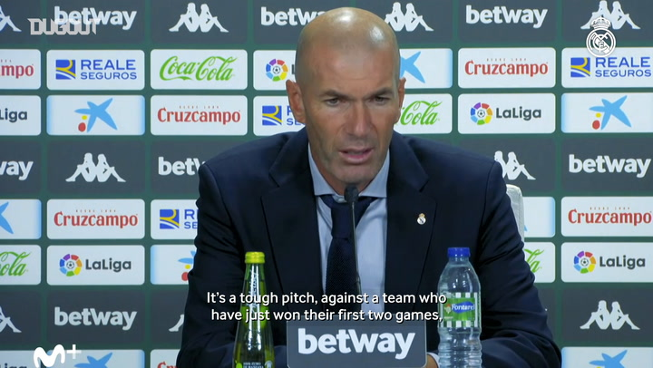 Zidane: 'The players kept going until the end and they got their reward'