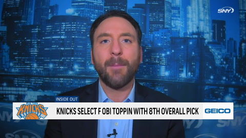 What are the Knicks getting with Obi Toppin and Immanuel Quickley?