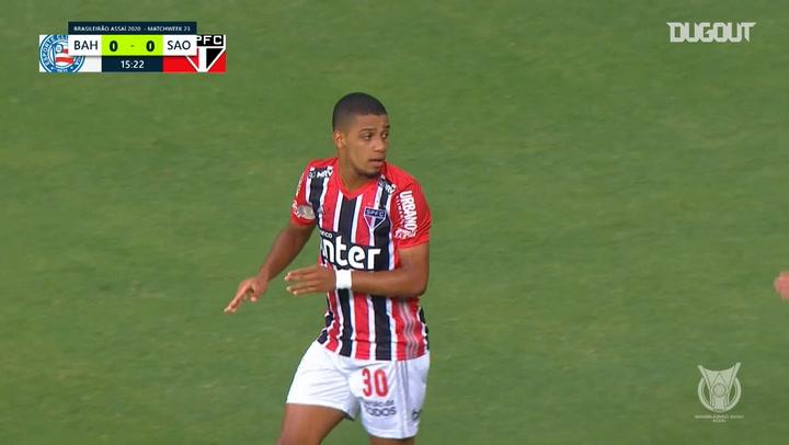 Highlights: Bahia 1-3 São Paulo