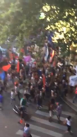 Rosario también marchó contra la reforma previsional