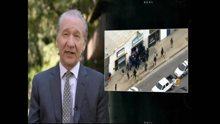 Maher: Response to Crimes in LA 'a Little Slow' - 'Blue Wall of Silence' Needs to End
