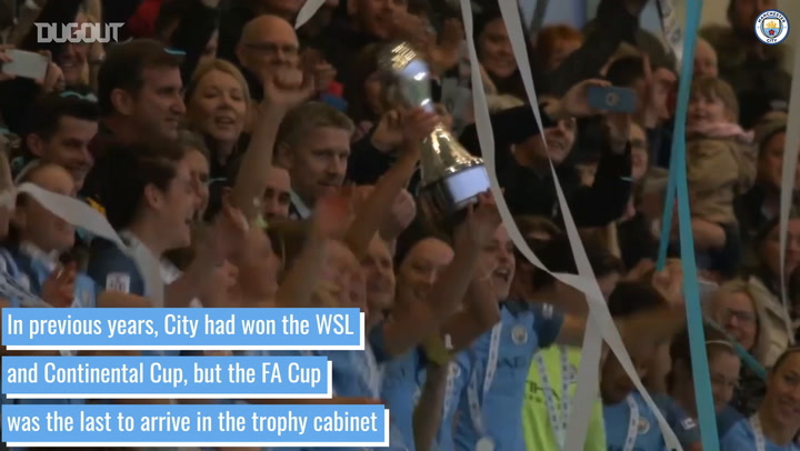 Man City Women's First FA Cup