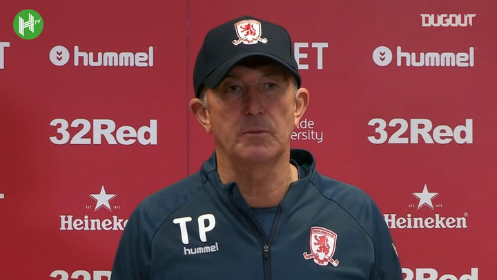 Middlesbrough Boss Tony Pulis Is Not A Take That Fan!
