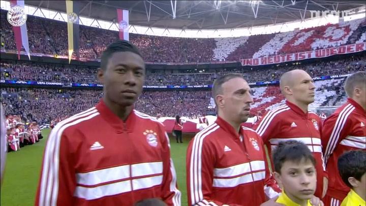 Bayern's Champions League final triumph vs Dortmund - Dugout