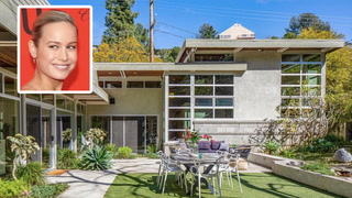 Brie Larson Takes a Loss on Her Midcentury Modern L.A. Home