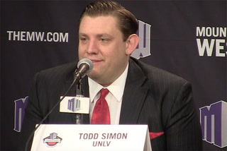 Coach Simon hopeful he'll return to coach UNLV