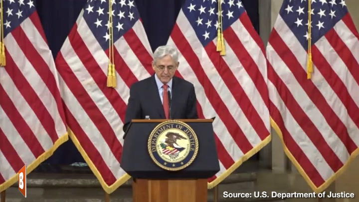 Merrick Garland: Domestic Terrorists May Use Social Media to Formulate Attack Plans