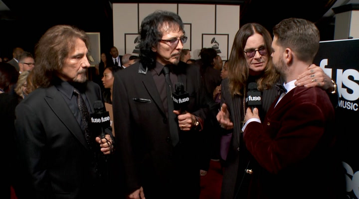 Shows: Grammys 2014: Black Sabbath Celebrate Rare GRAMMY Nominations