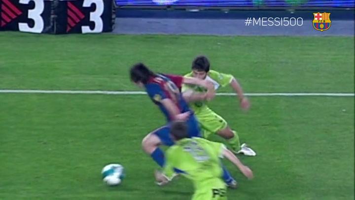 El de Messi al Getafe, el mejor gol de la historia del Barça