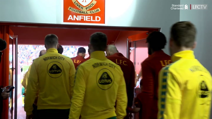 LFC receive rousing reception on Anfield return