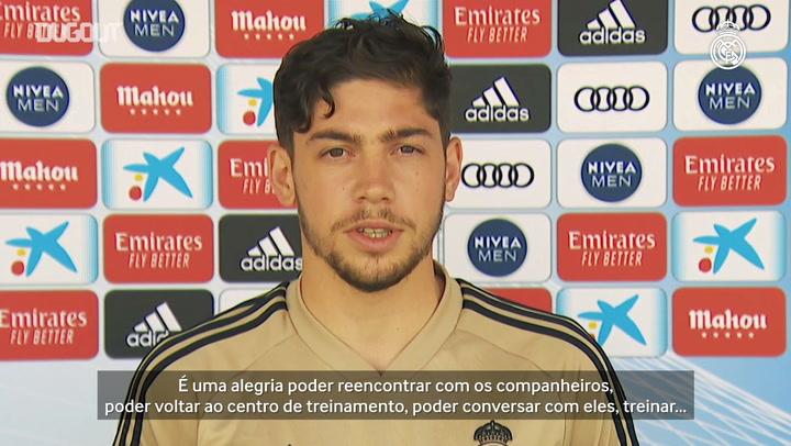 Valverde reforça desejo por virada do Real contra o City na Champions