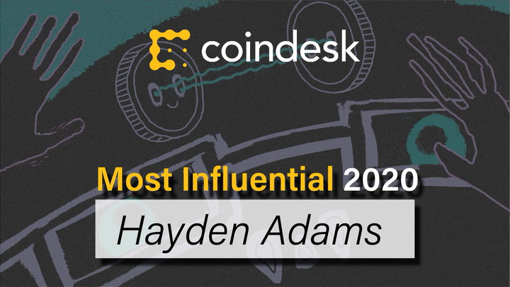 Hayden Adams – King of the DeFi Degens: Most Influential 2020
