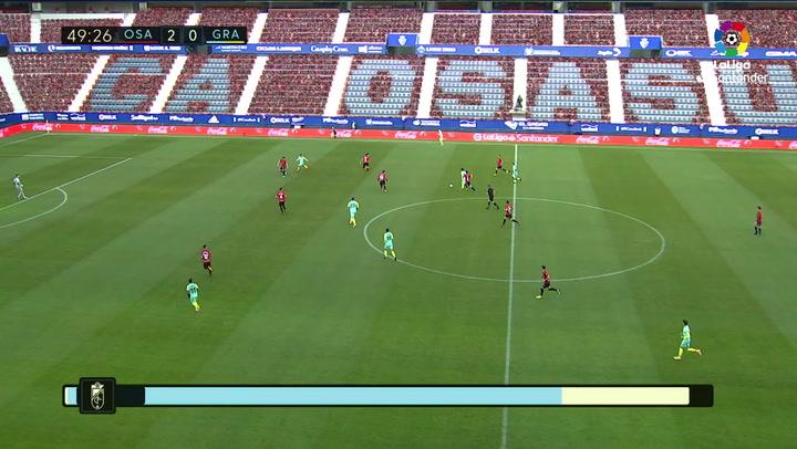 Gol de Luis Suárez (2-1) en el Osasuna 3-1 Granada
