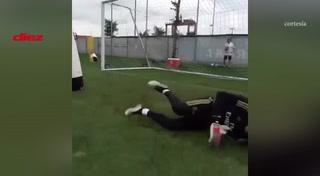 Keylor Navas comienza a meter en problemas a Courtois y Zidane: Así de fuerte se entrena