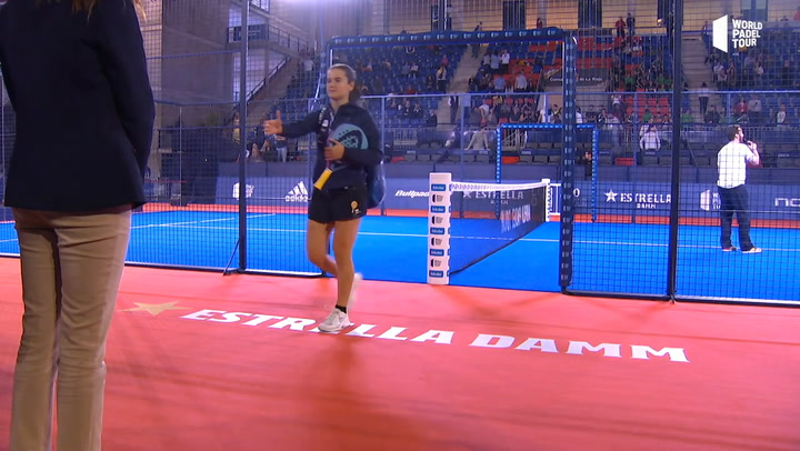 World Pádel Tour Logroño 2019: Resumen de la final femenina entre Marta Ortega y Alejandra Salazar