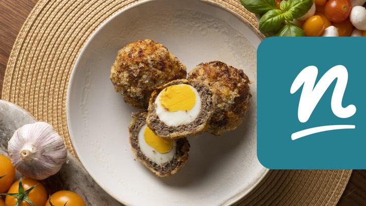 Skót tojás Philips Airfryerben készítve videó