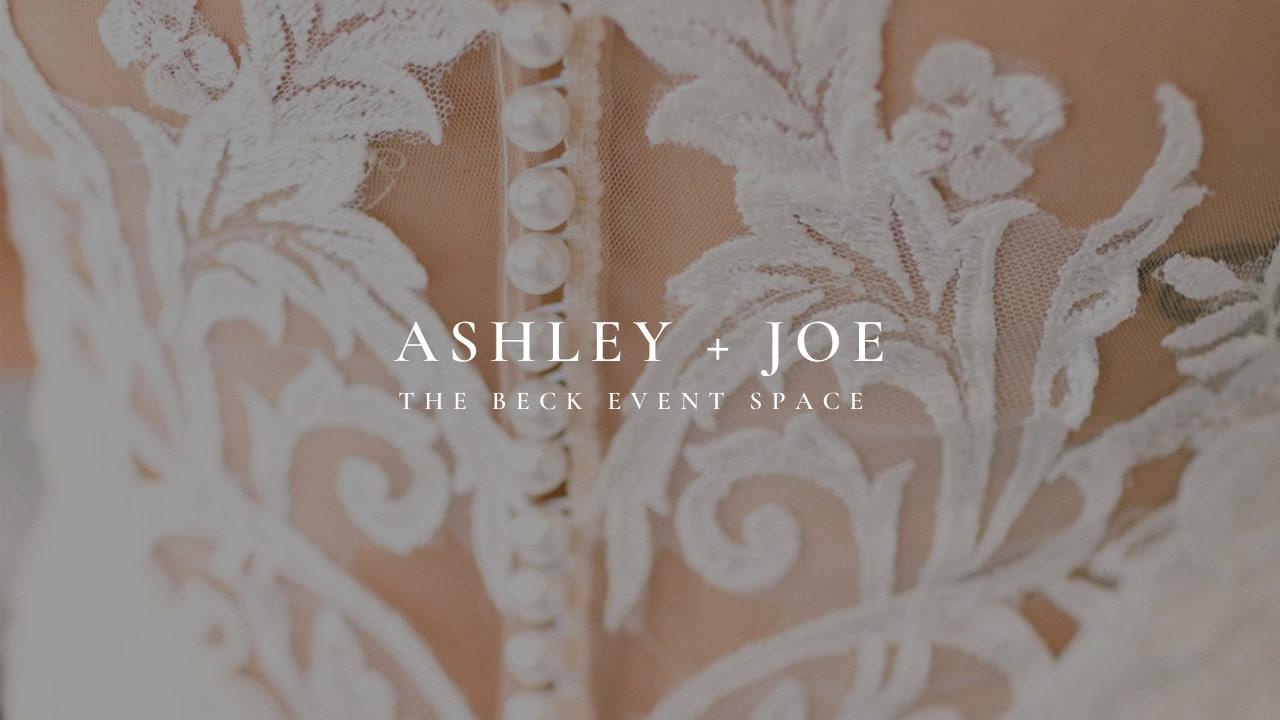 Ashley + Joe | Harrisonville, Missouri | The Beck Event Space