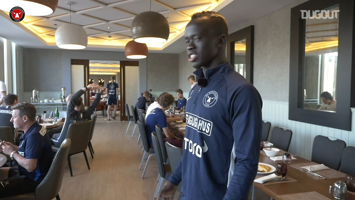 Awer Mabil provides a tour of FC Midtjylland's mid-season Dubai training camp