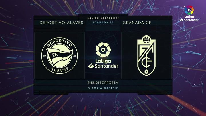 LaLiga Santander (J37): Resumen y goles el Alavés 4-2 Granada