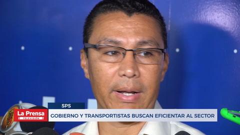 Gobierno y transportistas buscan eficientar al sector