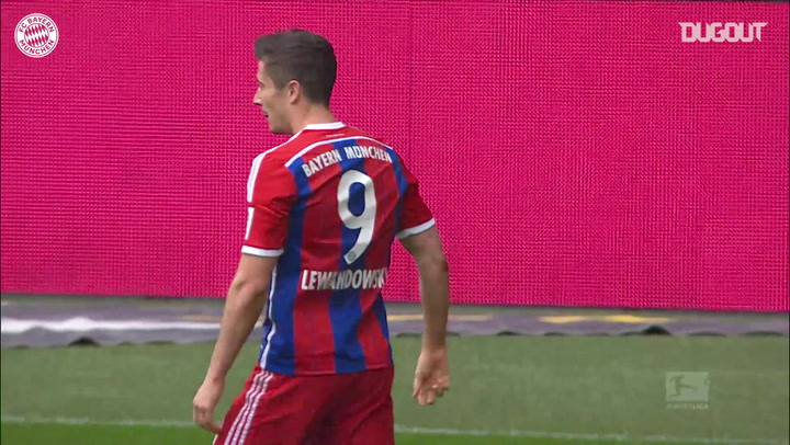 Incredible Goals: Robert Lewandowski Vs Frankfurt