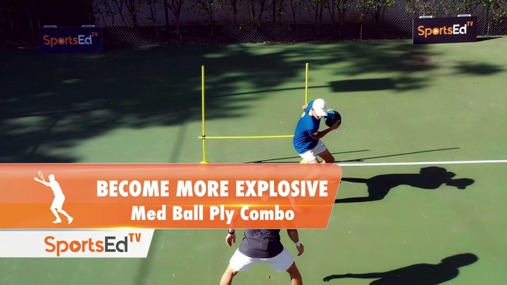 BECOME MORE EXPLOSIVE - Med Ball Ply Combo