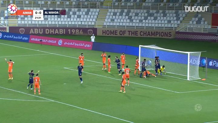 Highlights: Al-Wahda 3-0 Ajman