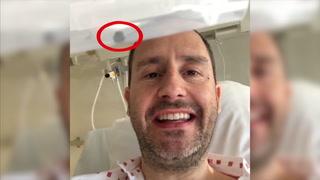 Innlagt på sykehus: Rørende hyllest fra sykesenga