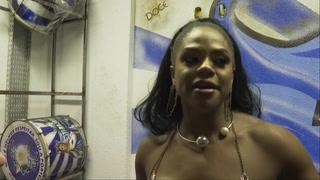 La intimidad de una reina del carnaval de Rio
