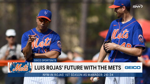 Where do things stand for manager Luis Rojas under the new Mets regime?