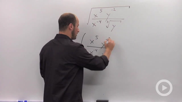 Rules for Rational Exponents - Problem 3