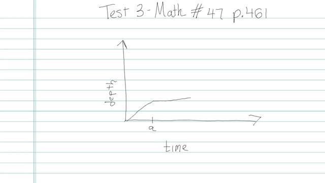 Test 3 - Math - Question 47
