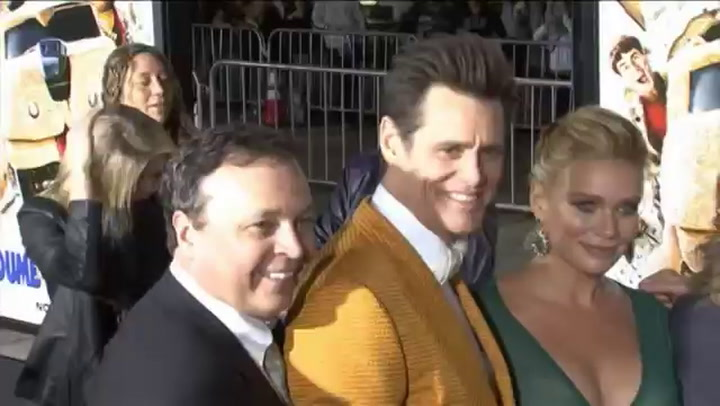 Video: Dumb and Dumber To in première in Los Angeles