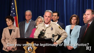 Las Vegas police address leaked hotel room photos from shooting
