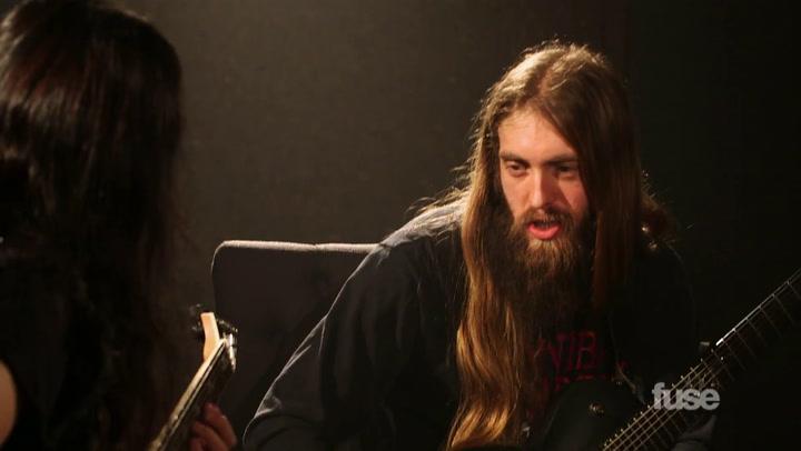 Suicide Silence's Mark Heylmun and Ozzy Osbourne's Gus G. Part 2