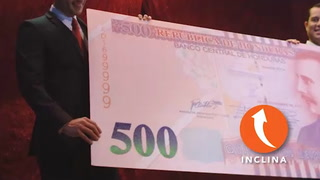 Banco Central de Honduras presenta emisión de nuevos billetes