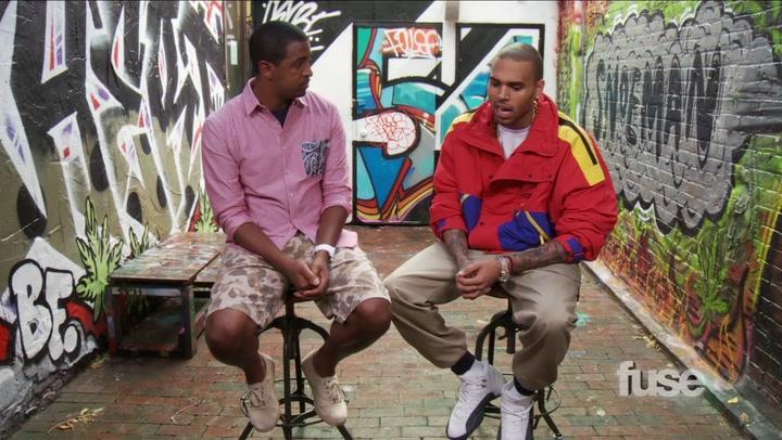Chris Brown on Breezy Art