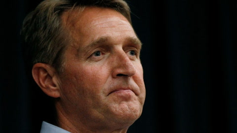 Flake to Challenge  Trump in 2020?