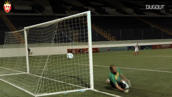 Manuel Rosas' free-kick goal in the Nicaraguan final