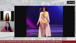 Miss Honduras, Cecilia Rossell, revela cuáles fueron las experiencias que dejó el Miss Universo